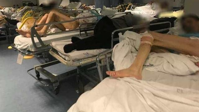 """Doentes """"sem condições nem dignidade"""" em macas nas urgências de Faro"""