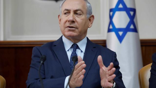 """Netanyahu diz que é """"absurdo"""" ser acusado antes das eleições em Israel"""