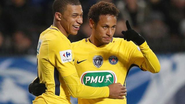 Balneário do Real Madrid exige a Florentino a chegada de Neymar