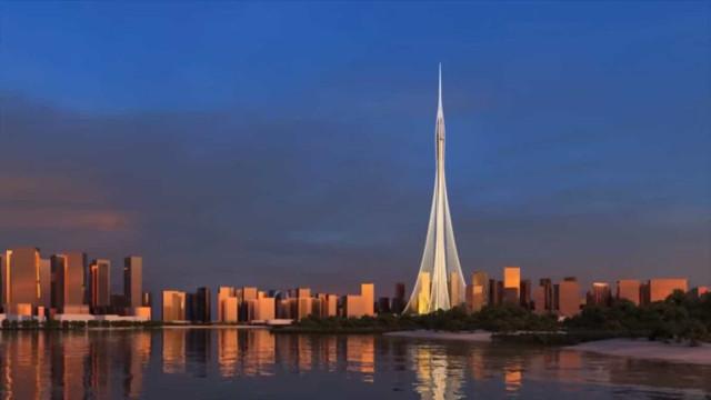 Dubai já constrói aquele que será o arranha-céus mais alto do mundo
