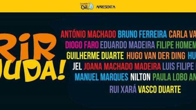 'Rir Ajuda' junta comediantes portugueses no primeiro Stand Up Solidário