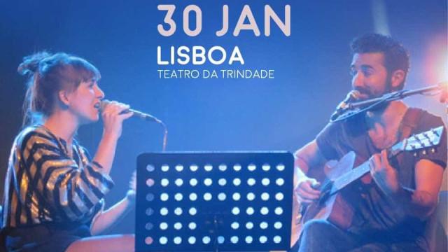 Márcia e Tiago Bettencourt em concerto para ajudar vítimas dos incêndios