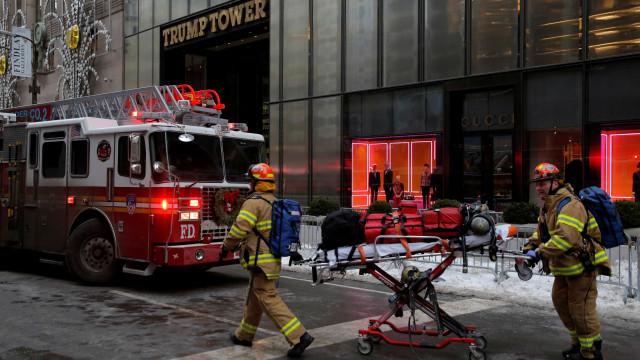 Dois feridos, um deles grave, no incêndio na Torre Trump