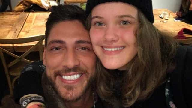 """Ângelo Rodrigues declara-se à filha de Iva Domingues: """"É o meu orgulho"""""""