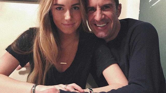 Filha mais velha de Figo faz 19 anos: Veja como cresceu a jovem Daniela