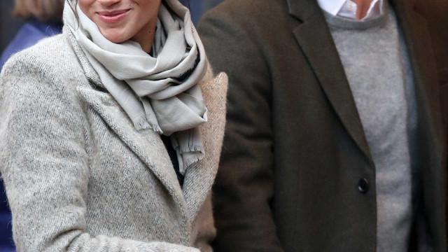 Eis a primeira aparição pública de Meghan e Harry em 2018