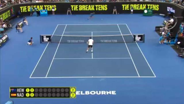 O ponto de Rafael Nadal que impressionou Djokovic