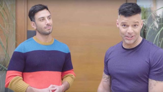 Ricky Martin e namorado mostram a sua casa (que compraram em 3 dias)