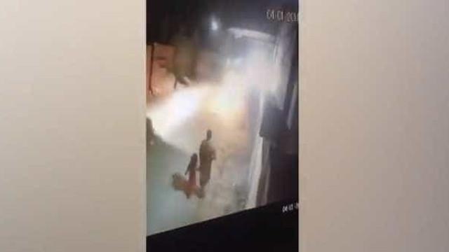 Filmado momento em que criança encontrada morta foi raptada