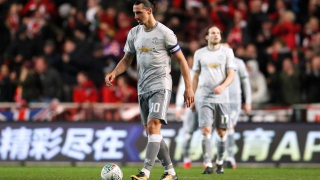 Ibrahimovic está de saída e já tem dois destinos possíveis