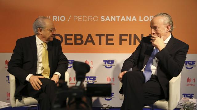 """Duelo final: Santana e Rio deixaram """"trapalhadas"""" e debateram o presente"""