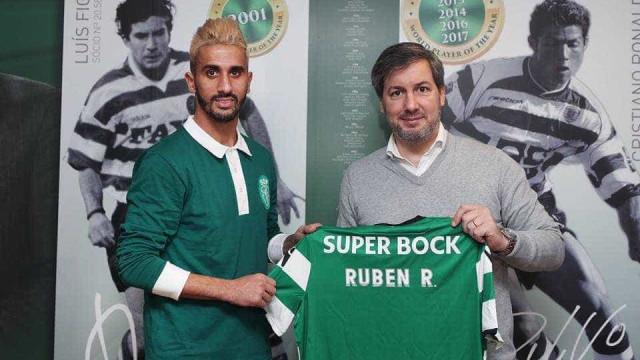 """Rúben Ribeiro já fala à leão: """"Chego ao maior clube português"""""""