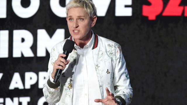 "Eis o ""presente de aniversário antecipado"" de Ellen DeGeneres"