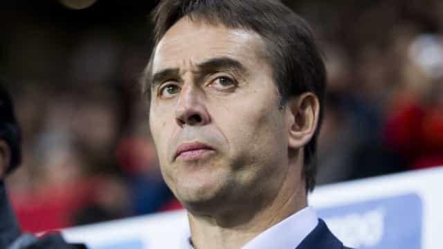 Oficial: Julen Lopetegui é o novo treinador do Real Madrid