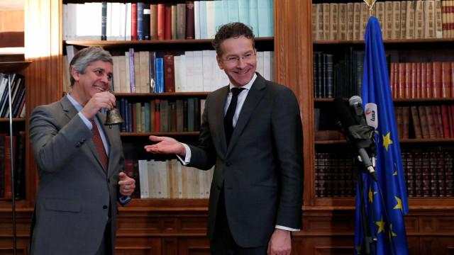"""Centeno já é presidente do Eurogrupo. """"Estou motivado"""", garantiu"""