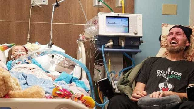 Morreu menina que lutava contra cancro ao lado de avô também doente