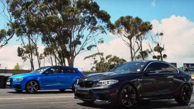 Audi RS3 vs. BMW M2. Quem leva a melhor?