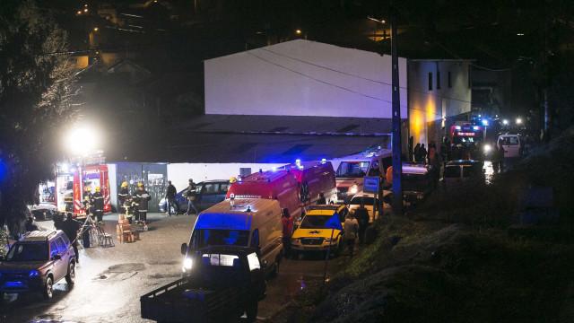 Famílias das vítimas de explosão com apoio desde o primeiro momento