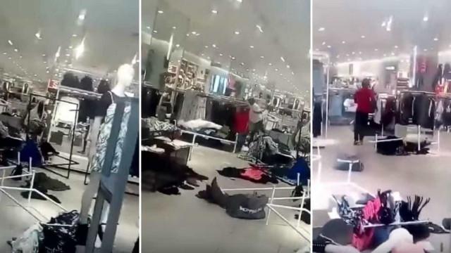 Protestos contra H&M acabam em lojas vandalizadas