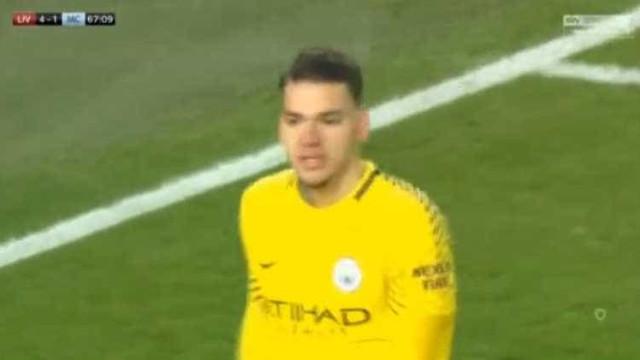 Ederson 'borrou' a pintura e deixou Salah agudizar o atropelo ao City