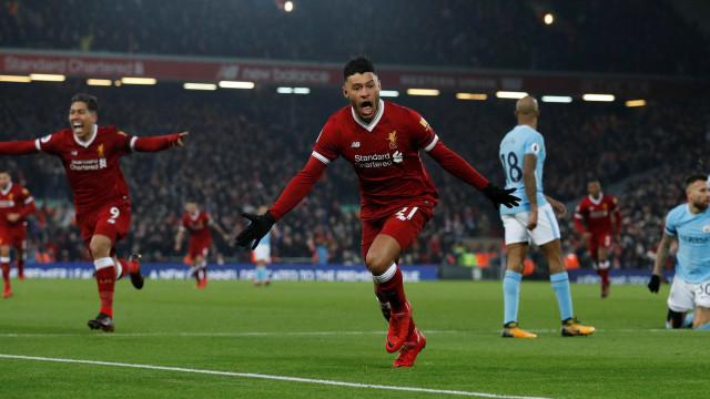 Fim da invencibilidade: City derrotado pelo Liverpool