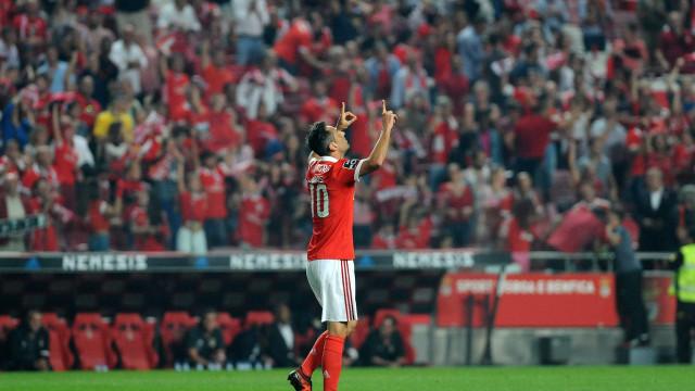 Rui Vitória prepara deslocação ao Estoril sem Jonas