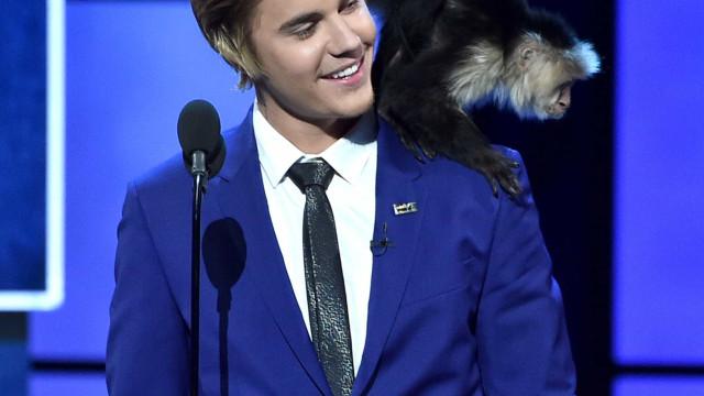Macaco de estimação de Bieber ficou 'traumatizado' após viver com cantor