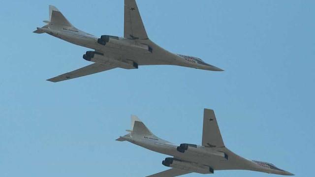 Força aérea do Reino Unido interceta dois bombardeiros russos