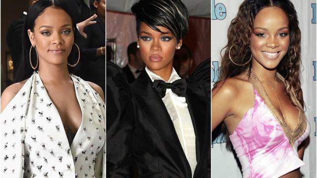 A evolução do estilo de Rihanna