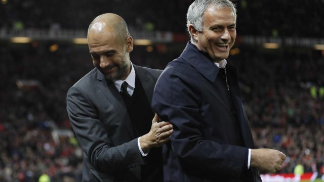 Guardiola não quer ficar atrás de Mourinho e prepara milhões por dupla