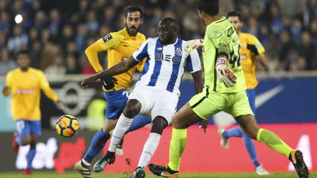 Estoril - FC Porto (1-0): Intervalo