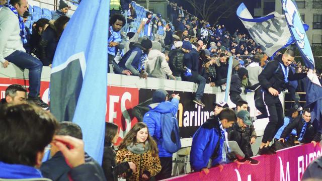 Estoril-FC Porto: Já começou a reunião com a Liga