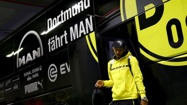 Aubameyang oficializa pedido de saída. Dortmund estabelece preço
