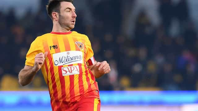 Capitão do Benevento suspenso um ano por doping