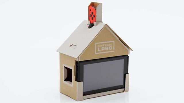 Labo, a experiência interativa da Nintendo que usa… cartão