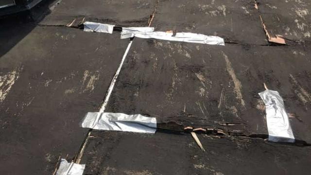 Arranjam telhado de idosa com fita-cola e cobram-lhe sete mil euros