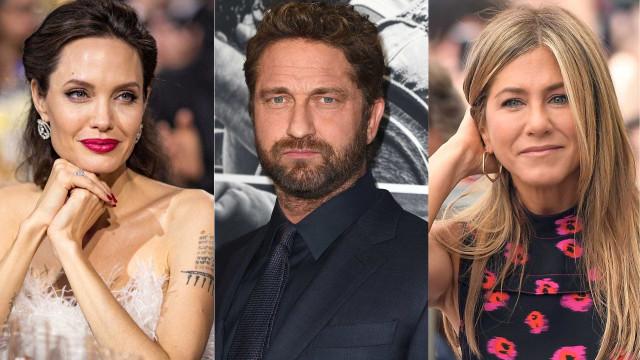 Quem beija melhor, Jennifer Aniston ou Jolie? Gerard Butler responde