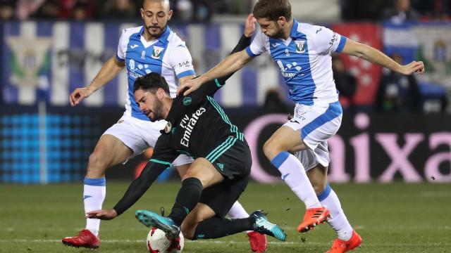 Taça do Rei: Real Madrid vence Leganés ao cair do pano