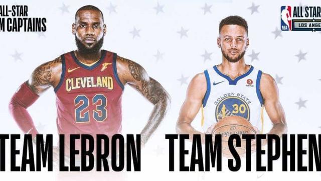 NBA revela capitães e titulares do All Star Game