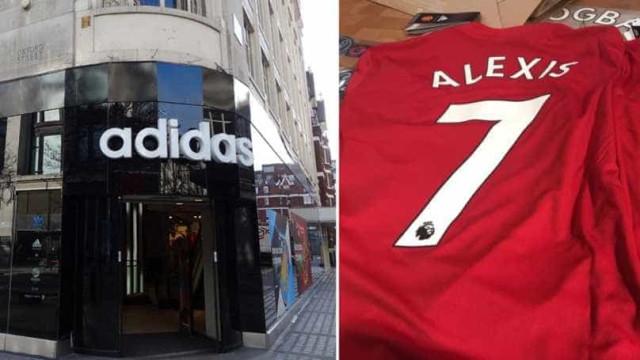 Loja da Adidas já confirmou negócio de Alexis com o Manchester United