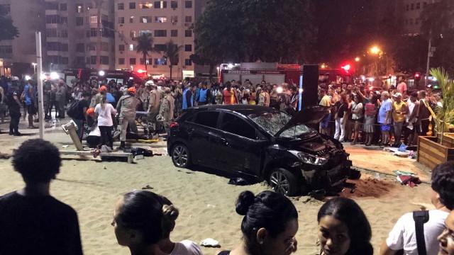 Atropelamento em Copacabana: Um bebé morto e 15 feridos