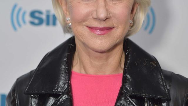 "Helen Mirren sobre assédio em Hollywood: ""Nunca aconteceu. Era velha"""