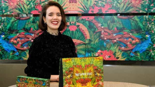 Nespresso convida portuguesa para desenhar edição limitada