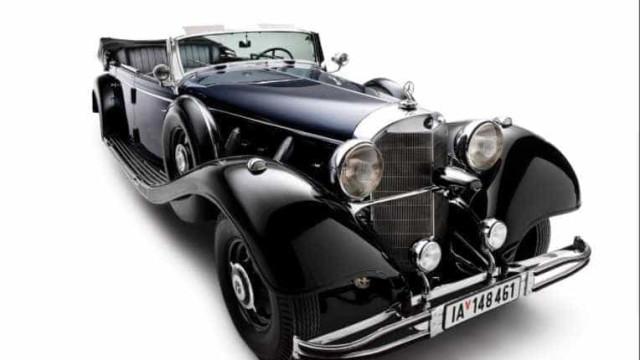 Mercedes de Hitler foi a leilão mas acabou sem comprador