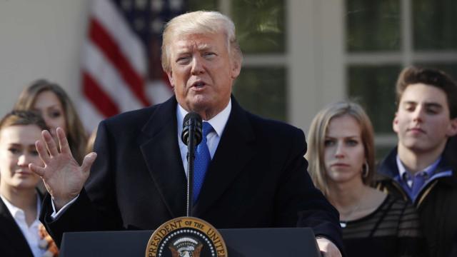 Trump torna-se no 1.º presidente a apoiar, em direto, marcha anti-aborto
