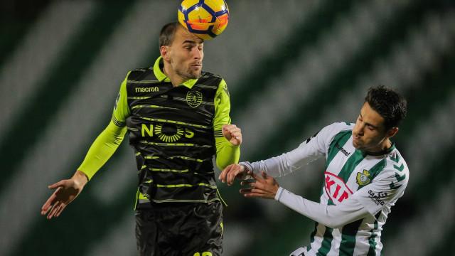 [0-1] V. Setúbal-Sporting: Bruno Fernandes inaugura o marcador