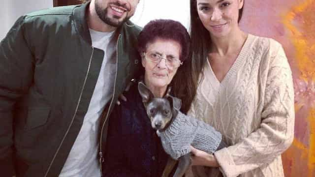 Avó de Marco Costa faz sucesso no Instagram