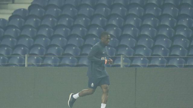 Waris estreia-se nos treinos do FC Porto