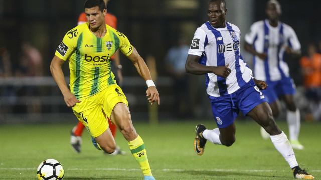 Osorio, central do Tondela, pode ser o próximo reforço do FC Porto