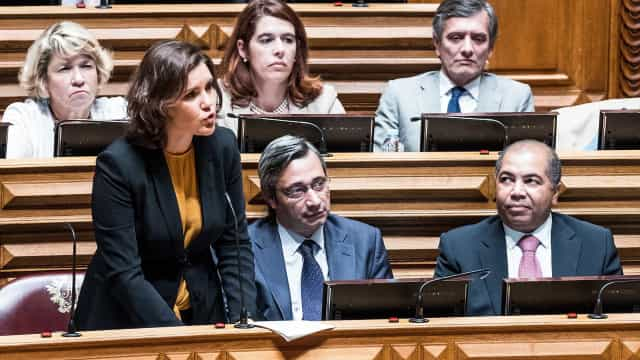 """Esquerda prepara-se para """"chumbar"""" segunda moção do CDS desde 2017"""